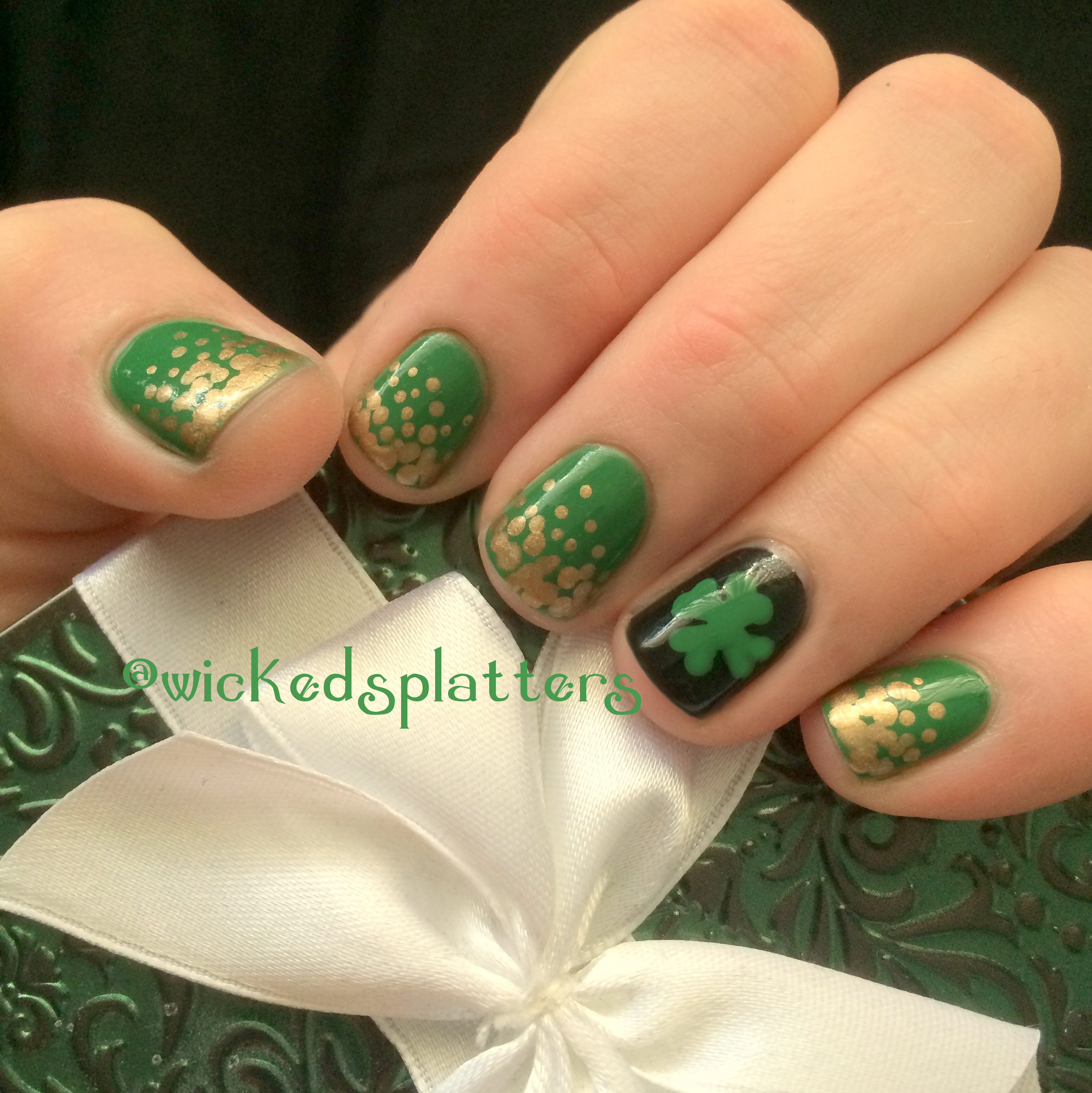 Nail Art | Wicked Splatters | Page 4