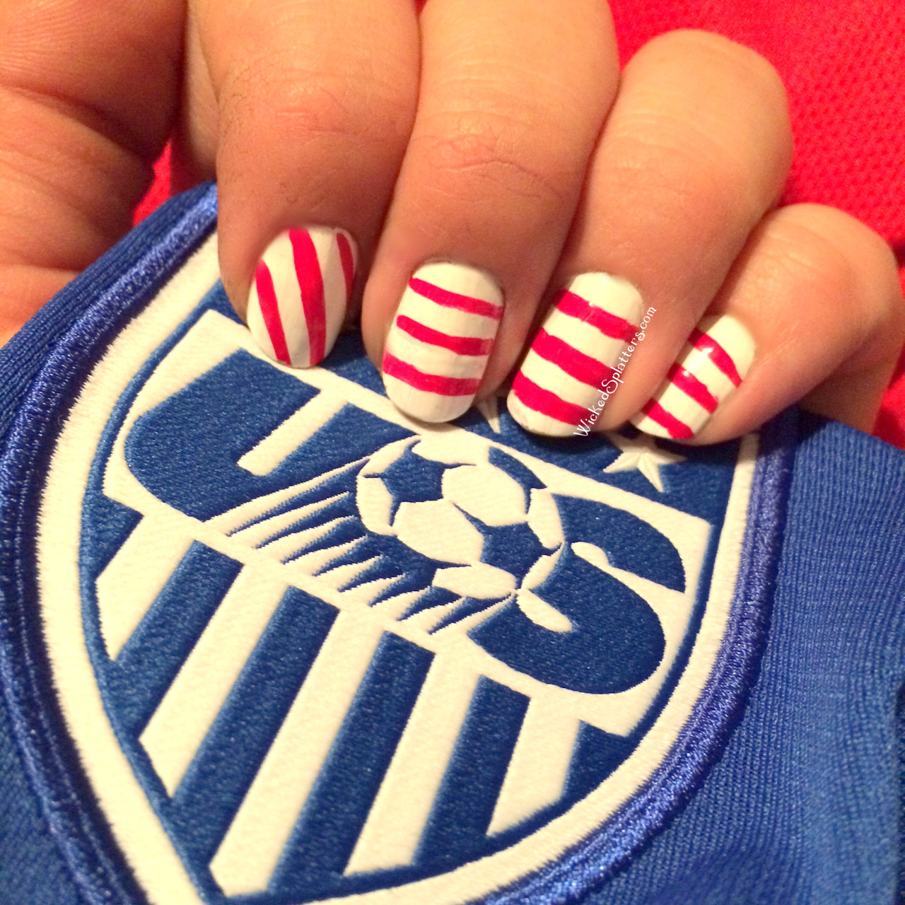 I Believe That We Can Win Usa Soccer Nails Wicked Splatters