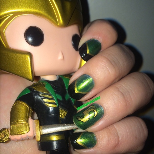 Burdened By Glorious Purpose And Fabulous Nails Loki Nail Art